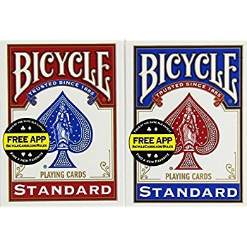 Standard Marked Bicycle Deck for Magic Performance