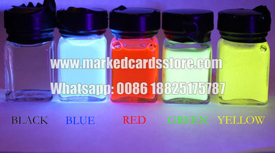 Card marking ink